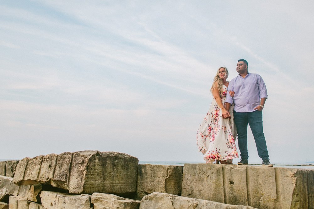 Edgewater Beach Engagement Session in Cleveland 7.jpg