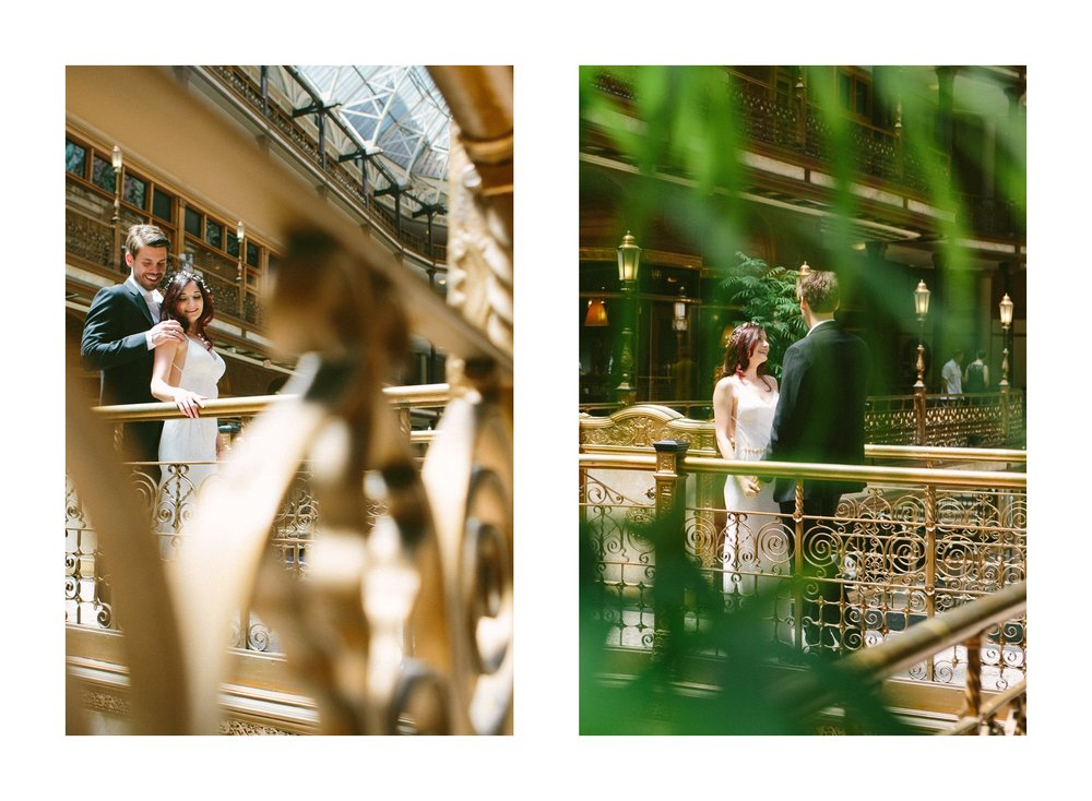 Hyatt Arcade Downtown Cleveland Wedding Photographer 14.jpg