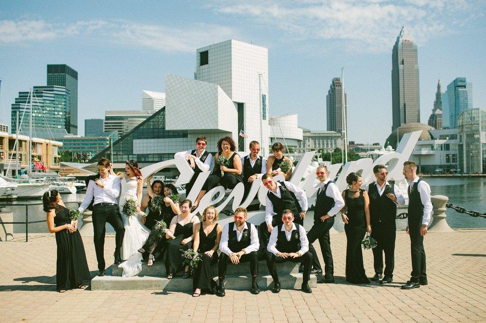 Hyatt Arcade Downtown Cleveland Wedding Photographer 36.jpg