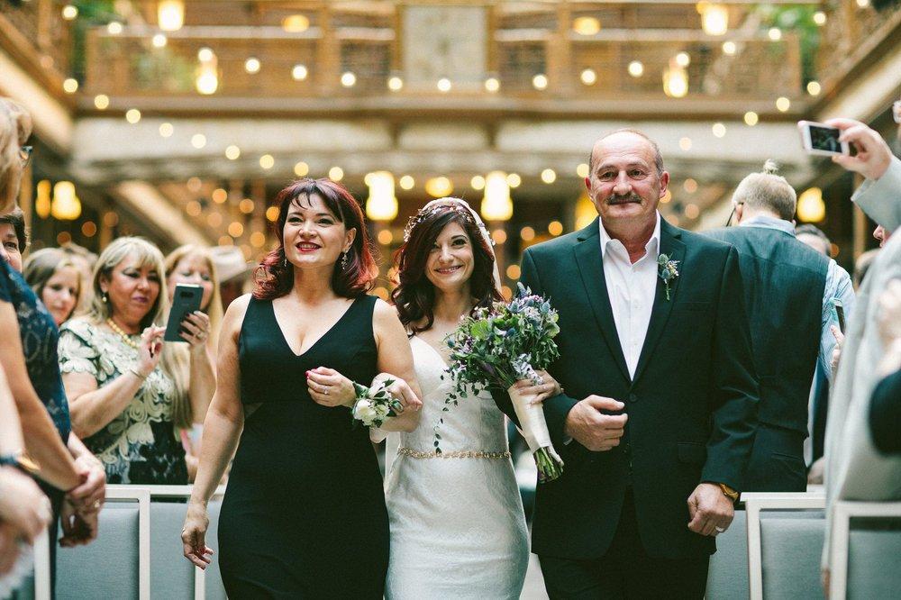 Hyatt Arcade Downtown Cleveland Wedding Photographer 44.jpg