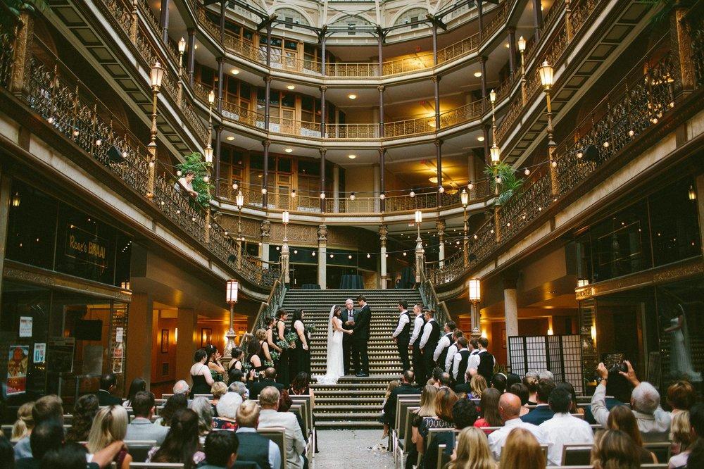 Hyatt Arcade Downtown Cleveland Wedding Photographer 46.jpg