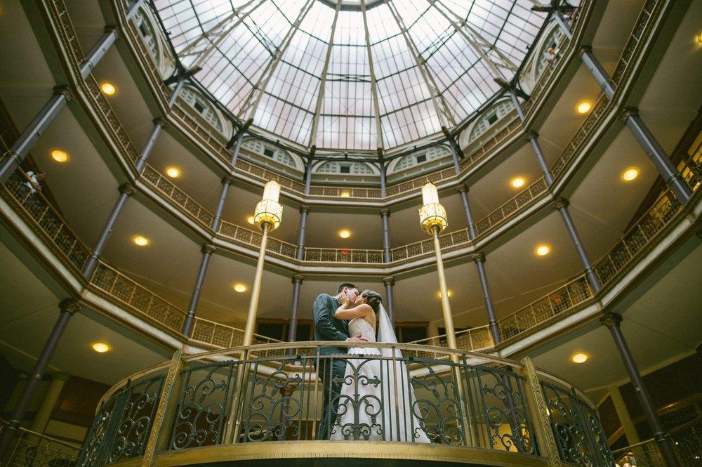 0028 - Hyatt Arcade Wedding Photographer in Cleveland 28.JPG