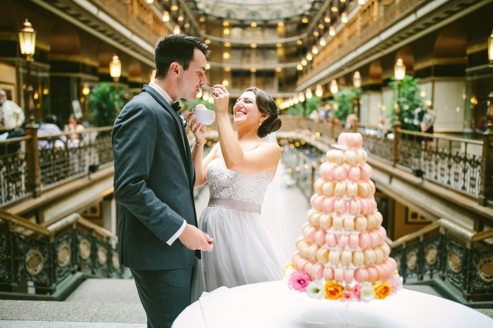 0074 - Hyatt Arcade Wedding Photographer Clevelane 24.JPG