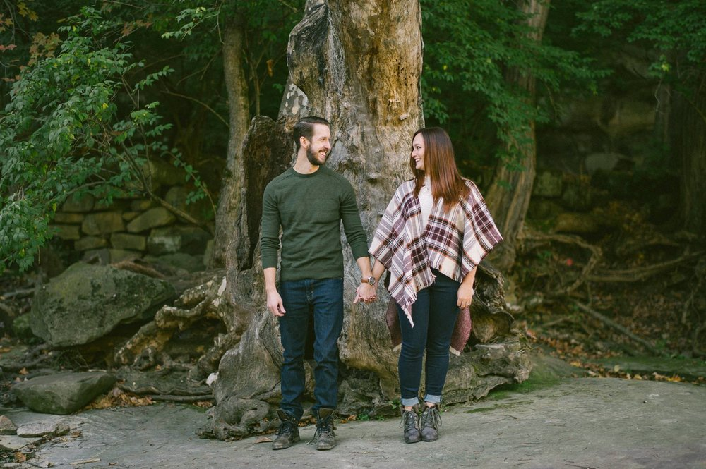 Olmsted Fall Covered Bridge Engagement Photos 1.jpg