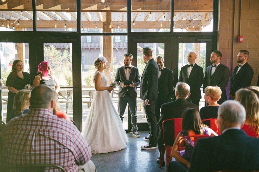 Goldhorn Brewery Wedding Photos in Cleveland 2 12.jpg