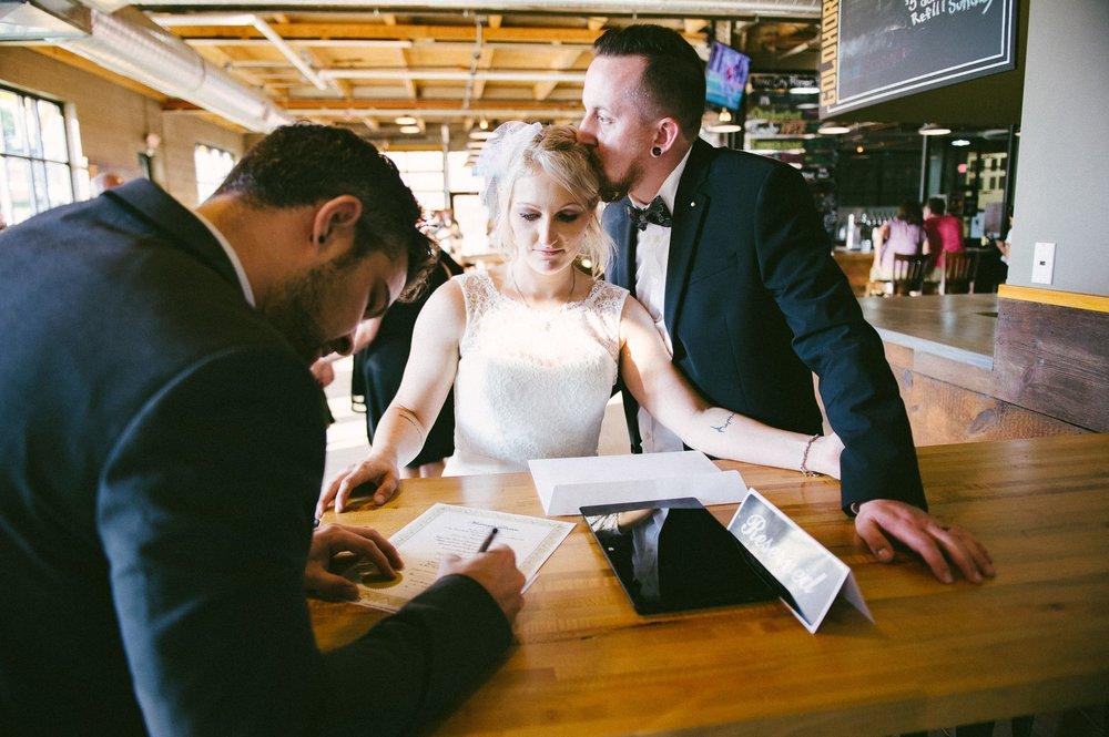 Goldhorn Brewery Wedding Photos in Cleveland 2 22.jpg