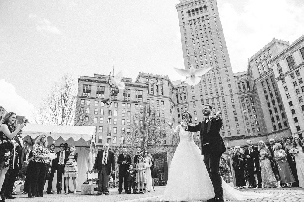 Renaissance Hotel Wedding Photos in Cleveland 2 33.jpg