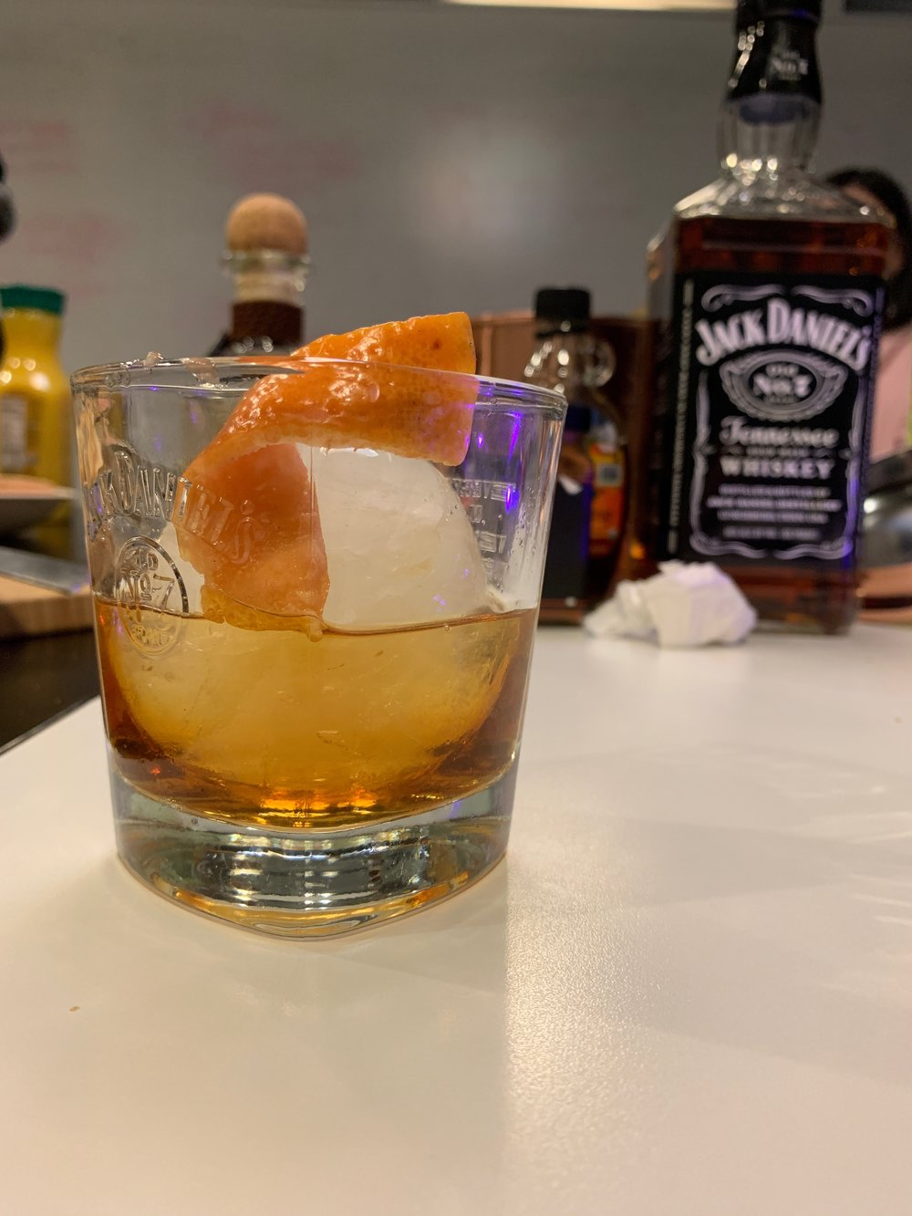 """""""Islay's Negroni"""" created by Tia, inspired by Andrew"""