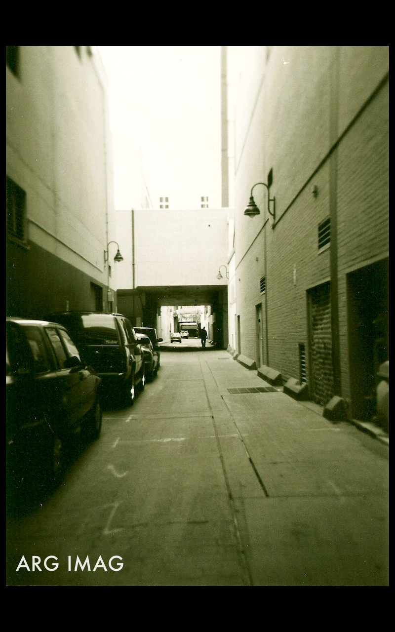 (Holga 120GN, Expired B&W Ilford Film)