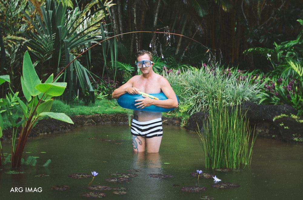 Kauai Fish Pond Pool
