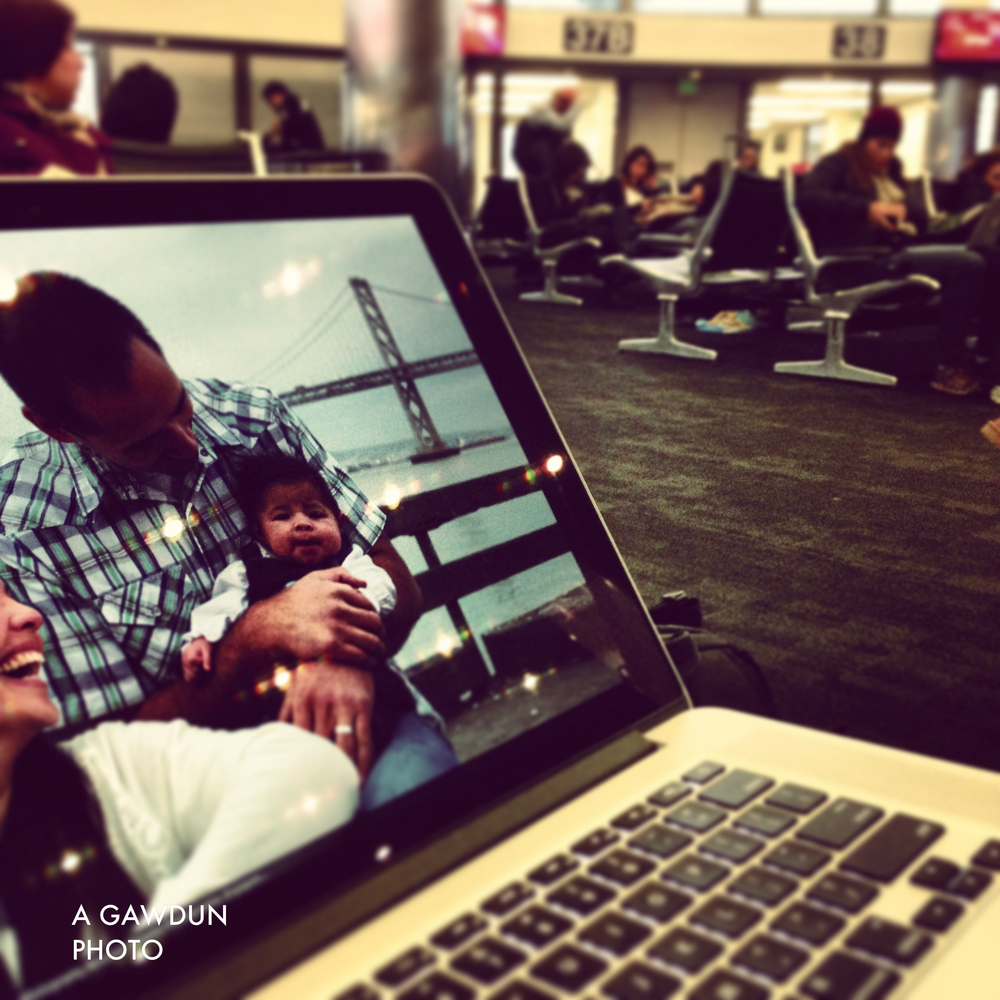 Had to get work done while waiting for a delayed flight from LAX to Vegas.