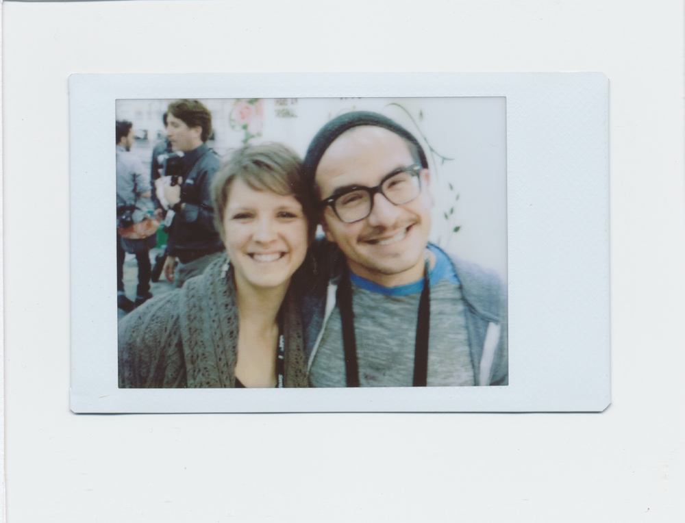 This is Dayci, Kevin and Katie's assistant who besides being their publication submissions manager etc, s a bad ass person!  We hung out a ton during WPPI and of course had fun at the Fuji Instax booth.