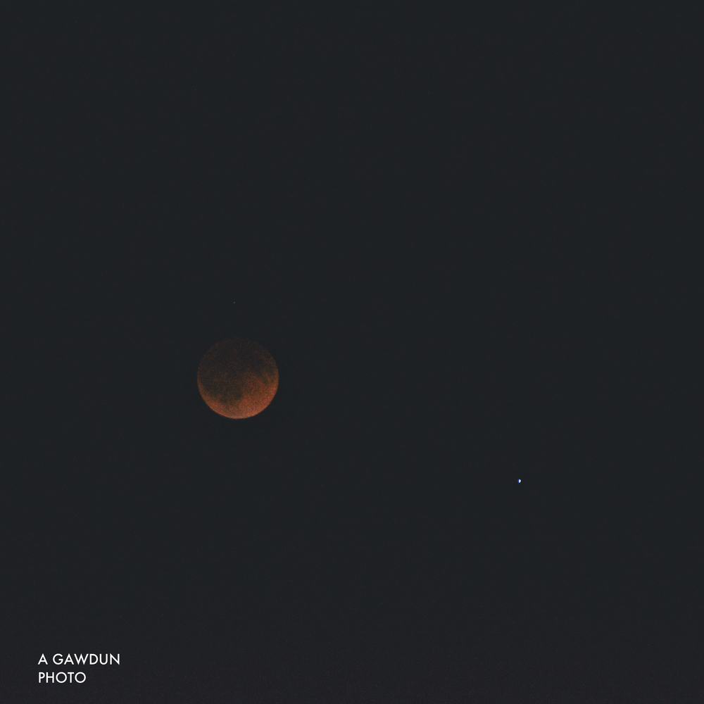 Full Lunar Eclipse (Blood Moon).