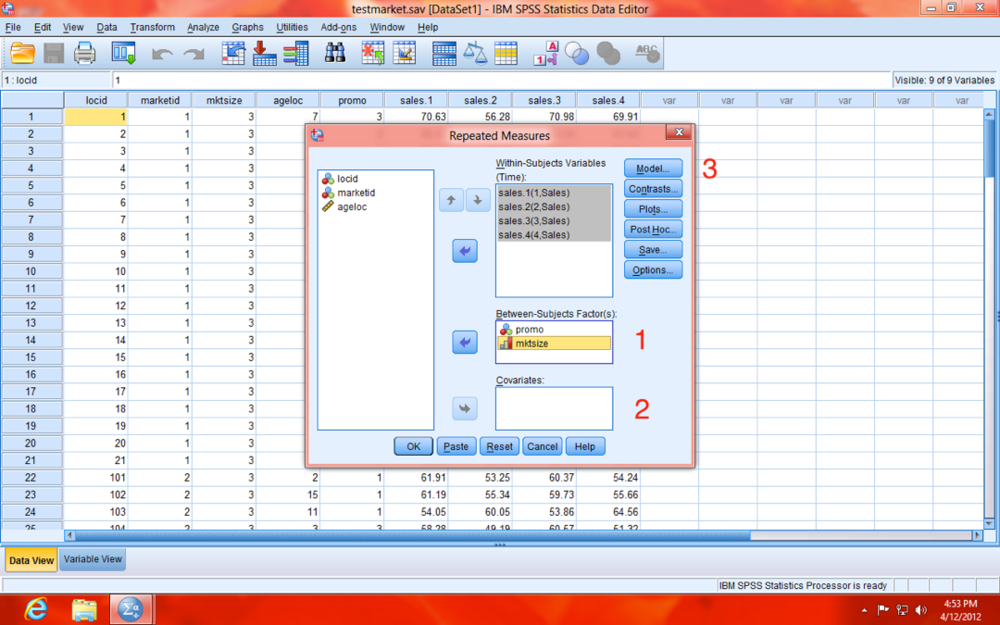 SPSS Repeated Measures IV Move