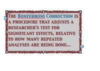 Bonferroni quote box Screen