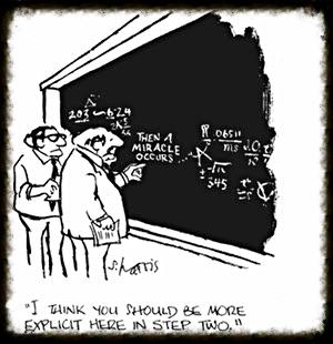 Cartoon by Sidney Harris (The New Yorker)