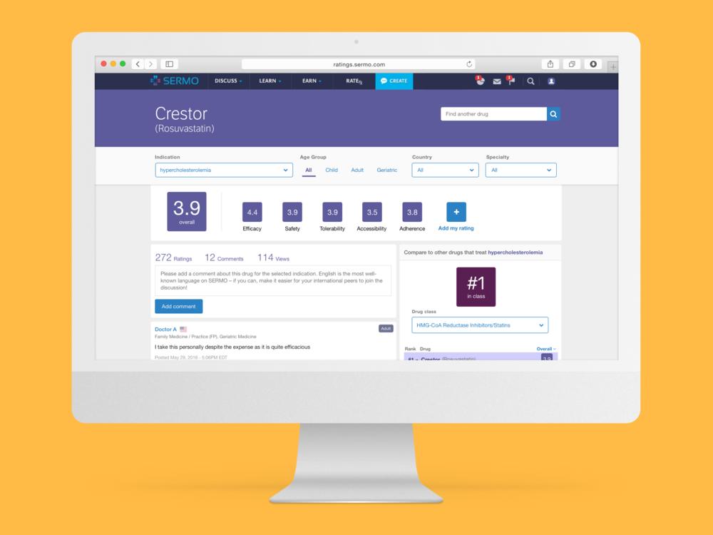Refined desktop app design