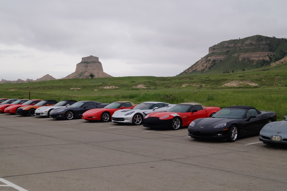 Parked at Scottsbluff National Monument
