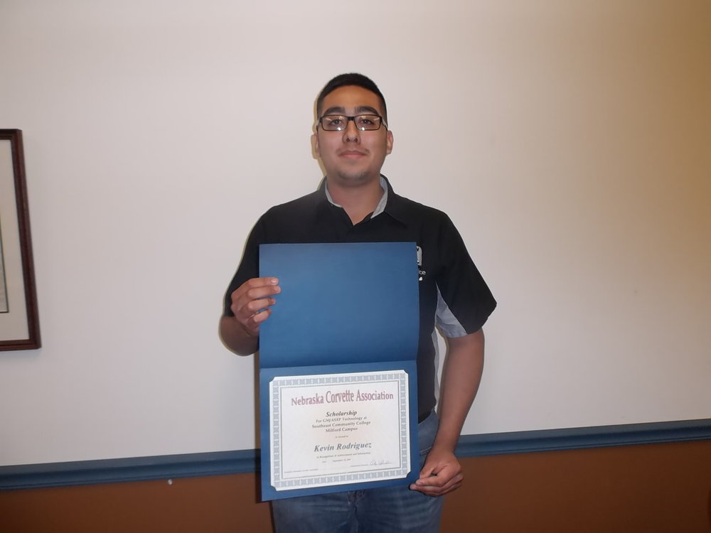 Kevin Rodriguez from Fremont, NE is sponsored in ASEP by Sid Dillon in Fremont