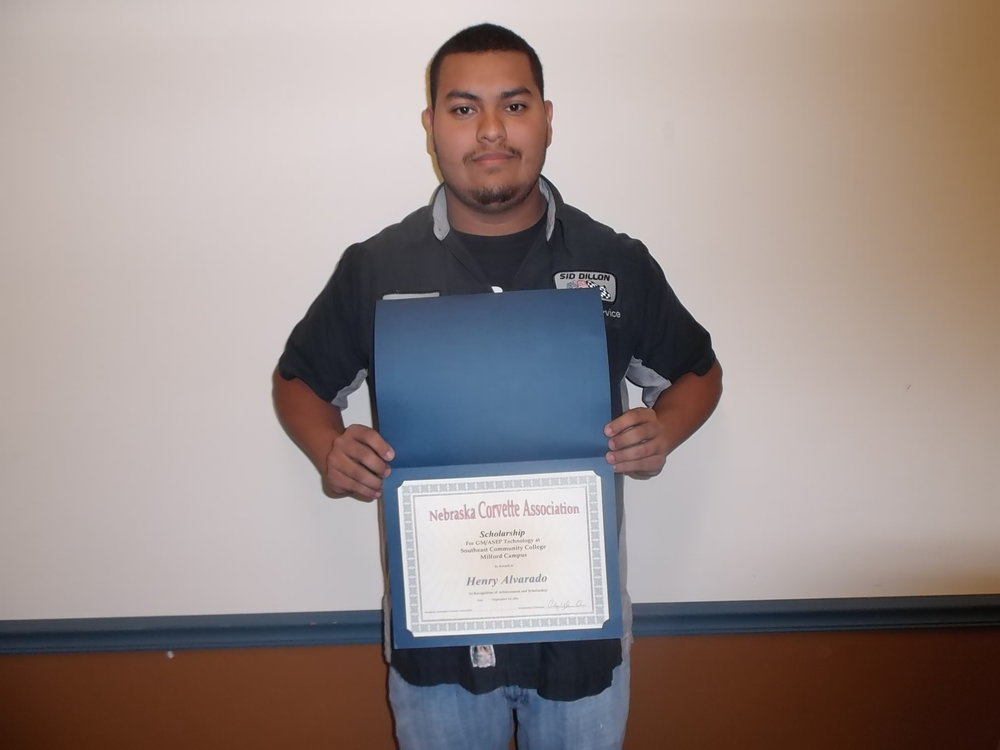 Henry Alvarado from Crete, NE is sponsored in ASEP by Sid Dillon in Crete, NE