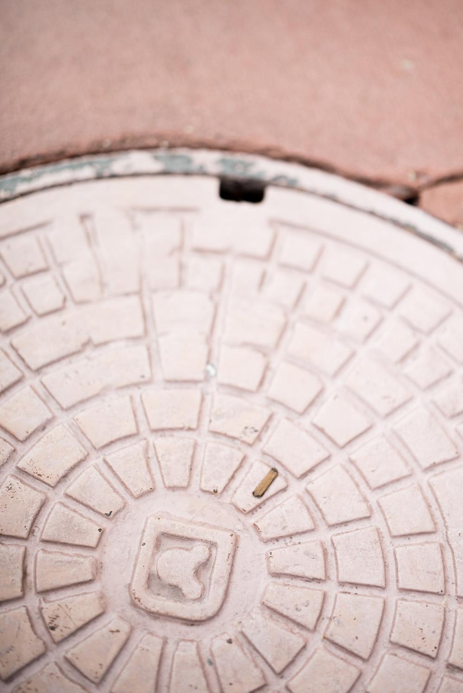 Disney Manhole Cover