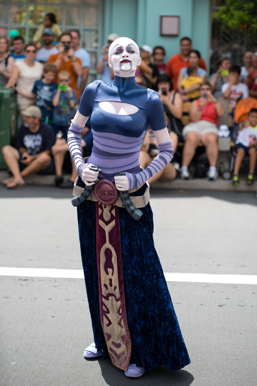 Asajj Ventress poses