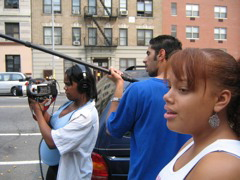 Directing a project for Harlem School of The Arts
