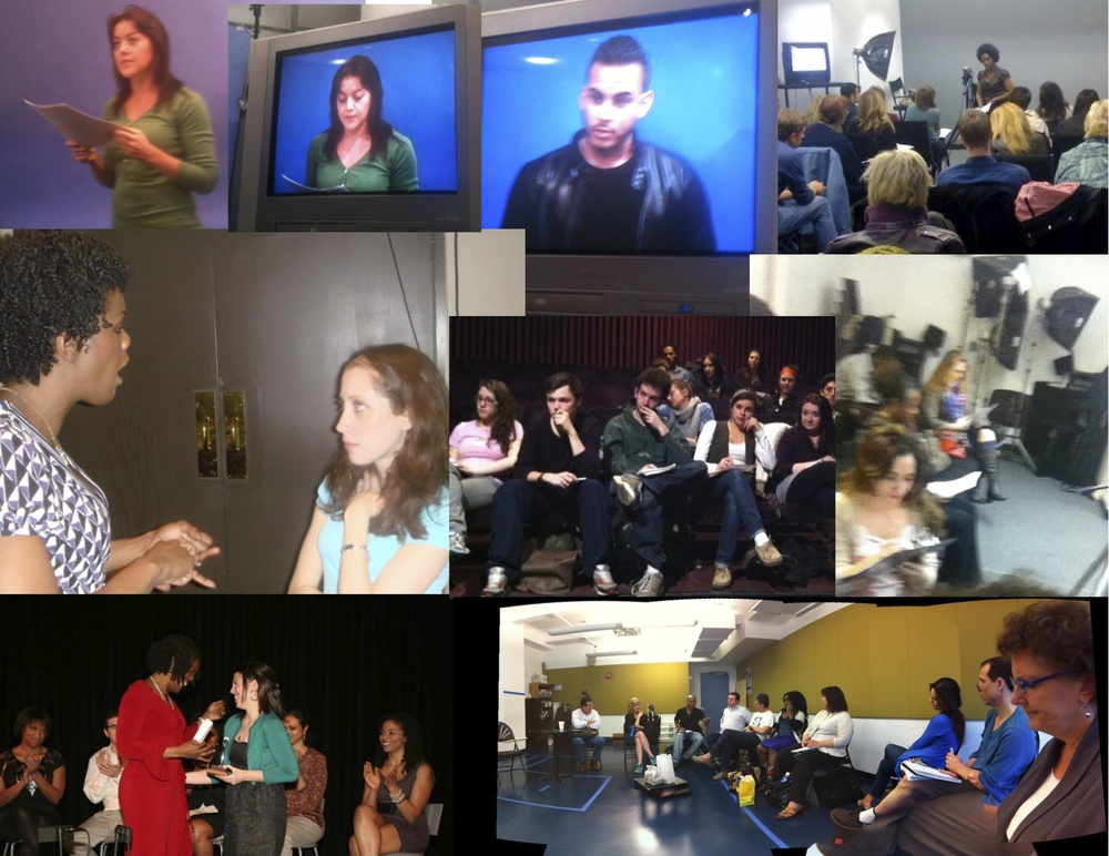 collage of teaching for Roz Acting Coach.jpg