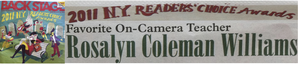 Voted Favorite On-Camera Teacher 2011/2012