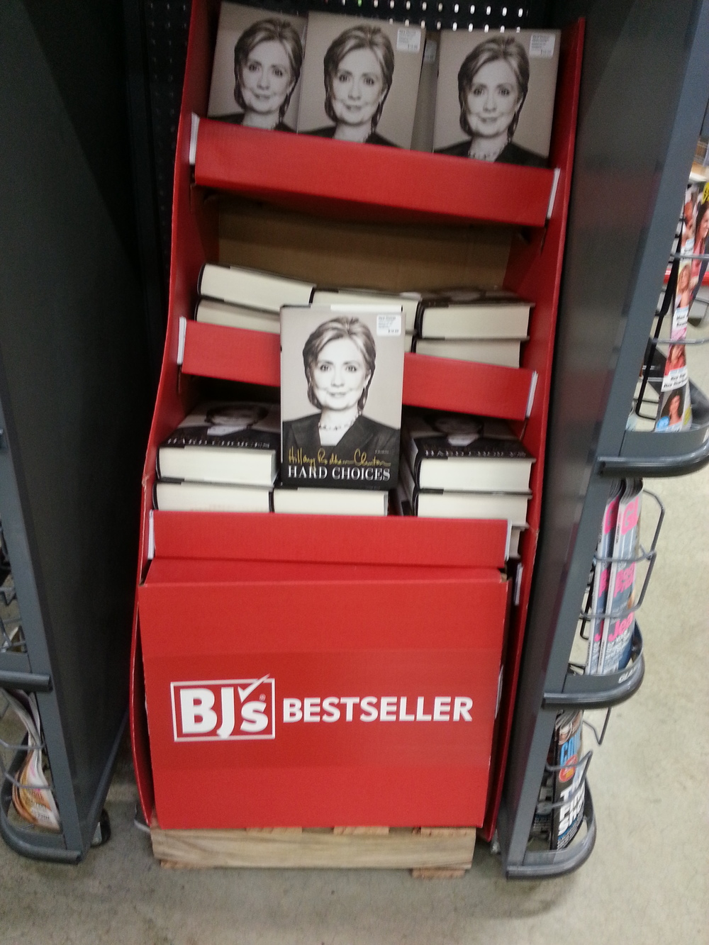 "BJ's Bestseller - ""Hard Choices"", by Hillary Clinton"