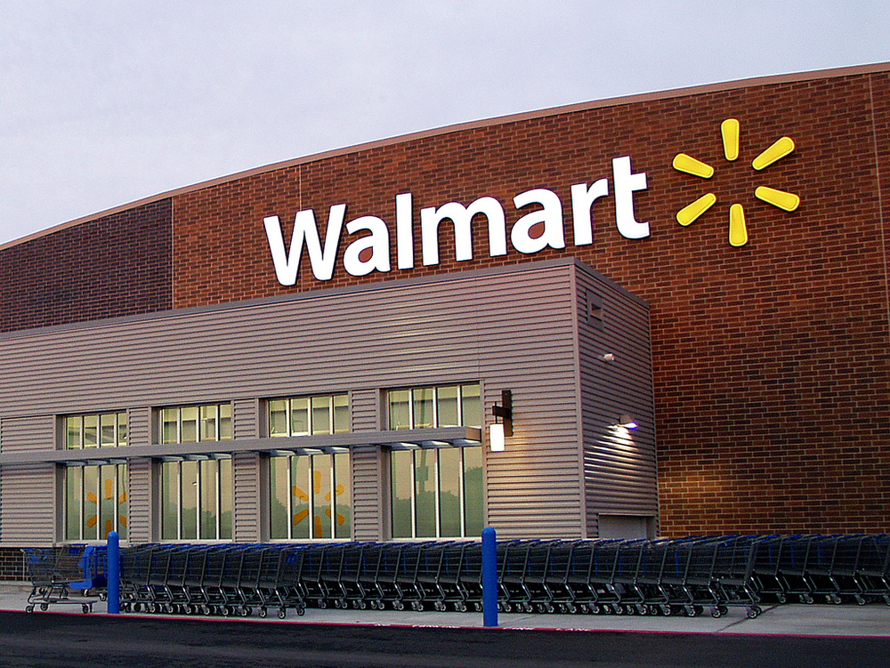 Walmart Store Exterior by Walmart Stores on Flickr (Creative Commons)
