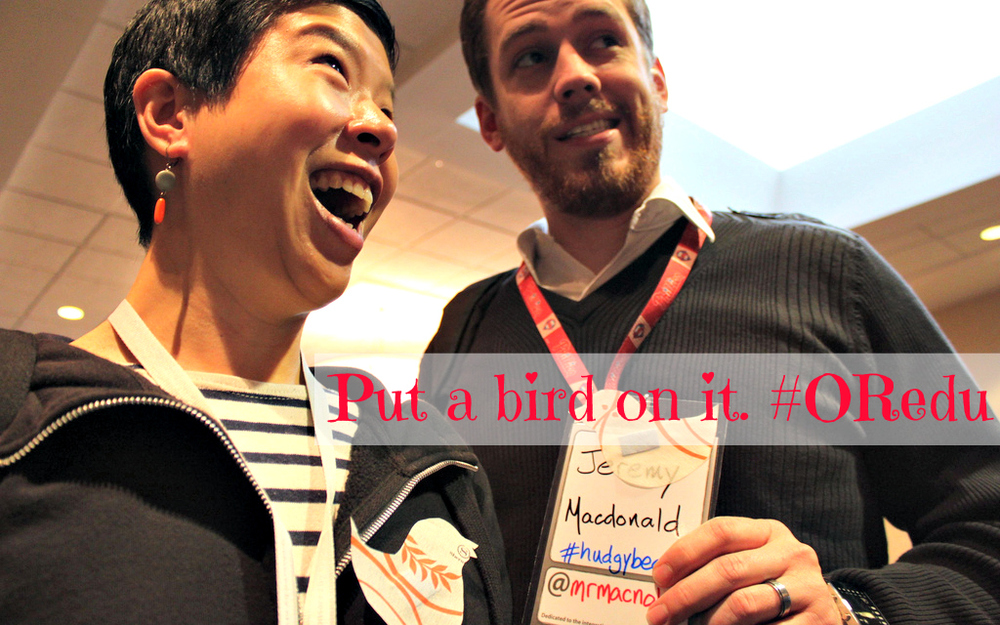 @actionhero and @mrmacnology at ITSC 2012 (now called IntegratED PDX)