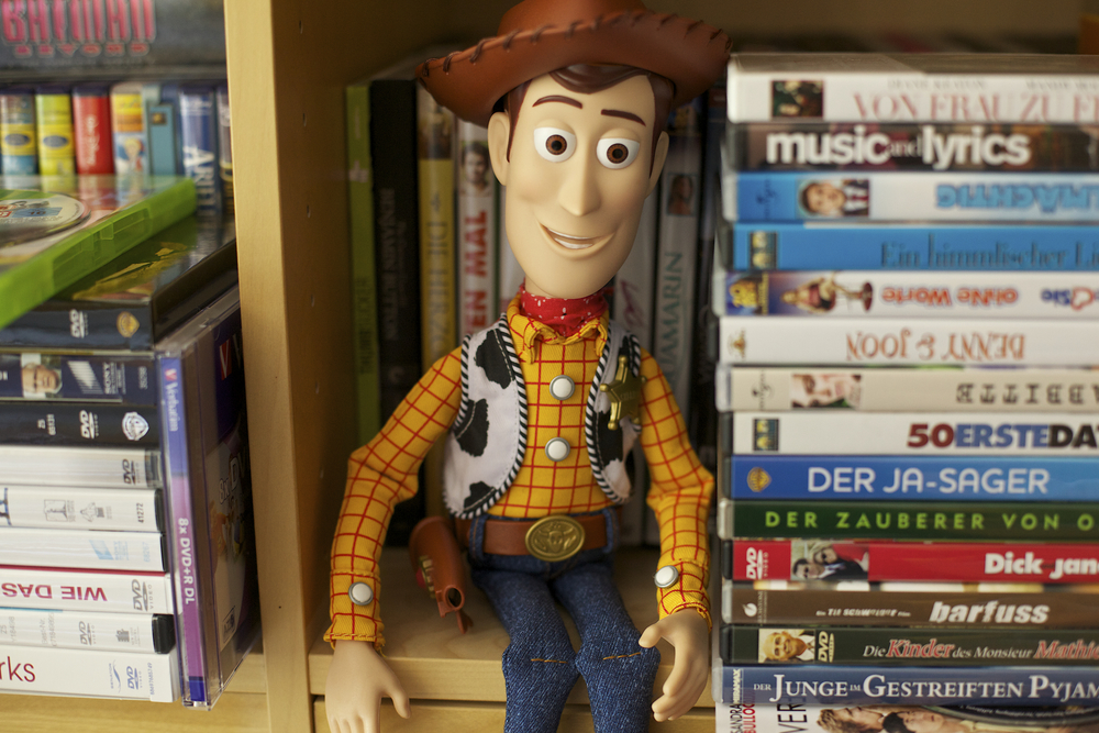 Photo credit: Woody on is new space on the DVD shelf by semihundido, a Creative Commons image on Flickr.