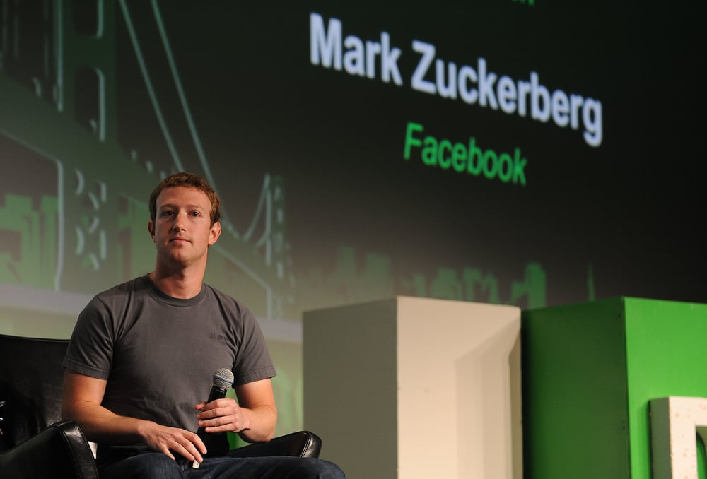 Photo credit: Mark Zuckerberg, by TechCrunch, a Creative Commons image on Flickr.