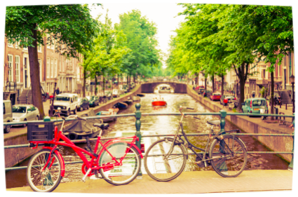 Bikes & canals galore