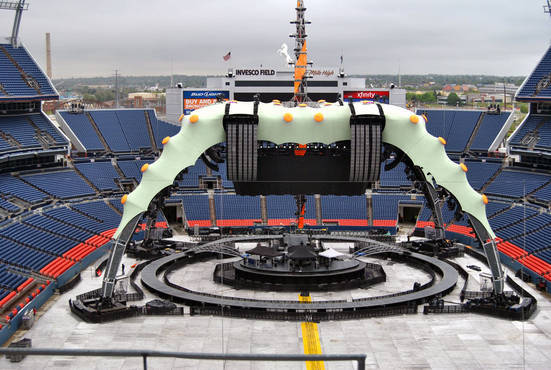 U2 360 Stage Front