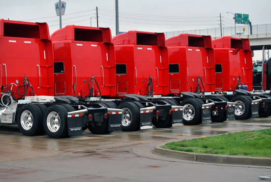 StageCo Red Tour Trucks