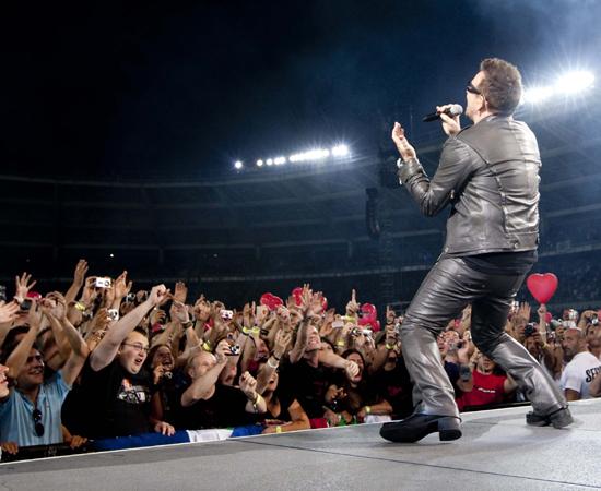 Bono / U2 360 Tour