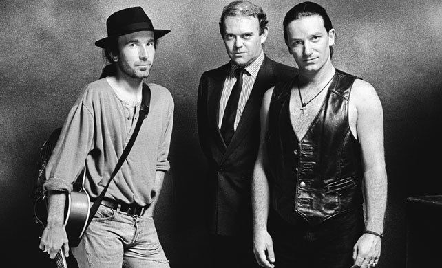 The Edge/ Paul/ Bono