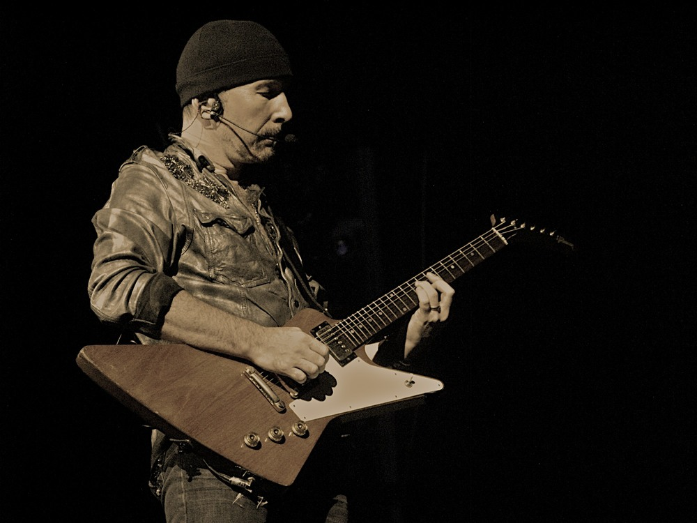 The Edge /U2 /  @Walker