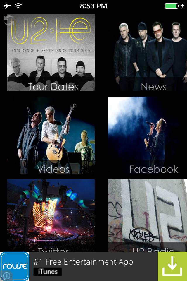 U2 Fan Site Launches New Apple Application U2TOURFANS