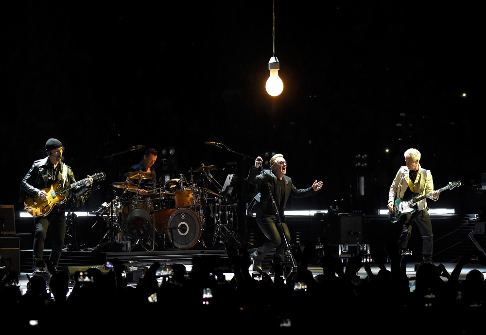 (Photo by Kevin Mazur/WireImage)  U2TOURFANS 2015