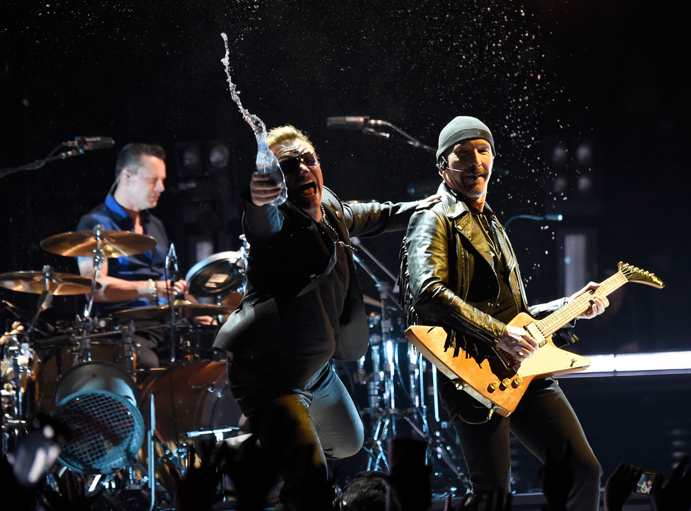 Photo by Kevin Mazur/WireImage / U2TOURFANS 2015