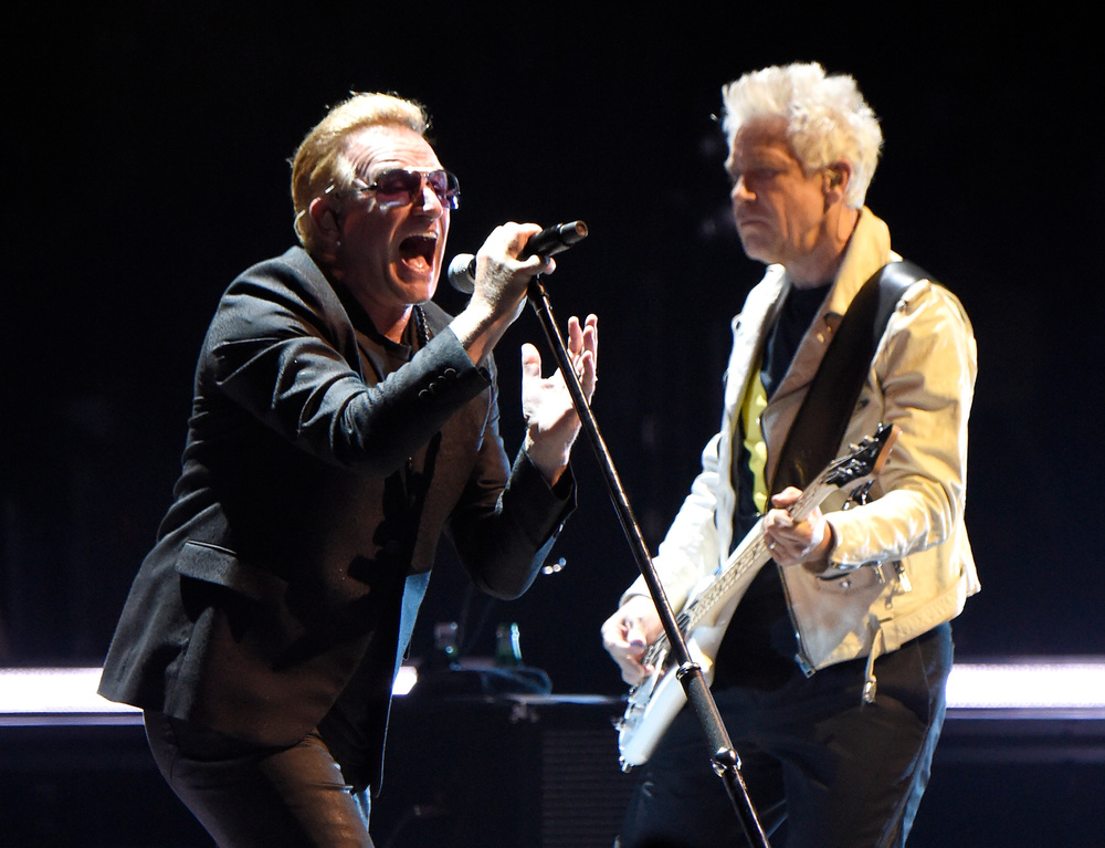 Photo by Kevin Mazur/WireImage /(U2TOURFANS 2015)