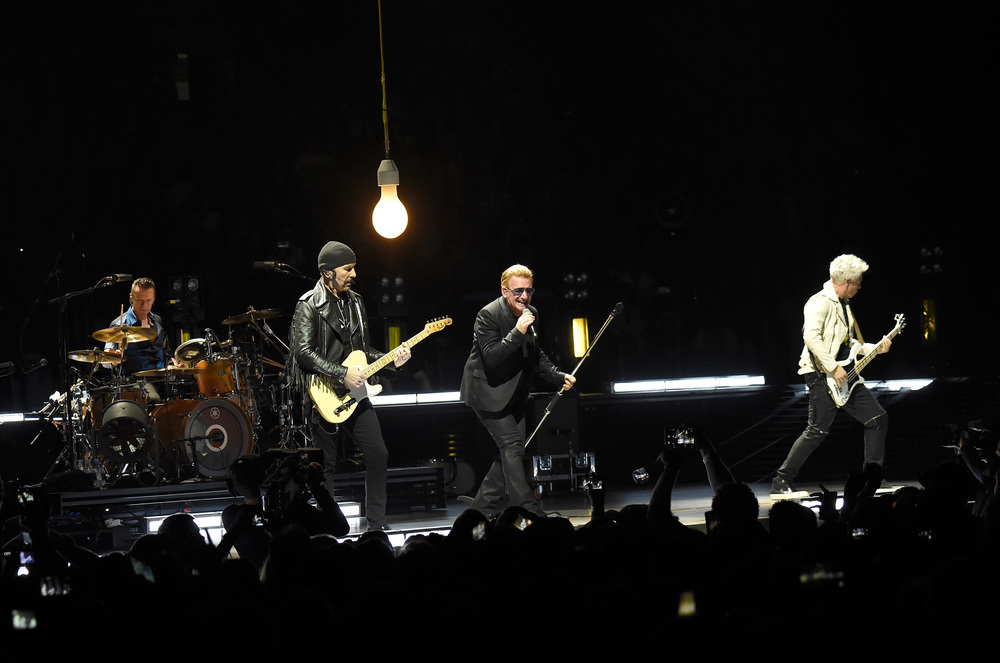 Photo by Kevin Mazur/WireImage (U2TOURFANS 2015)