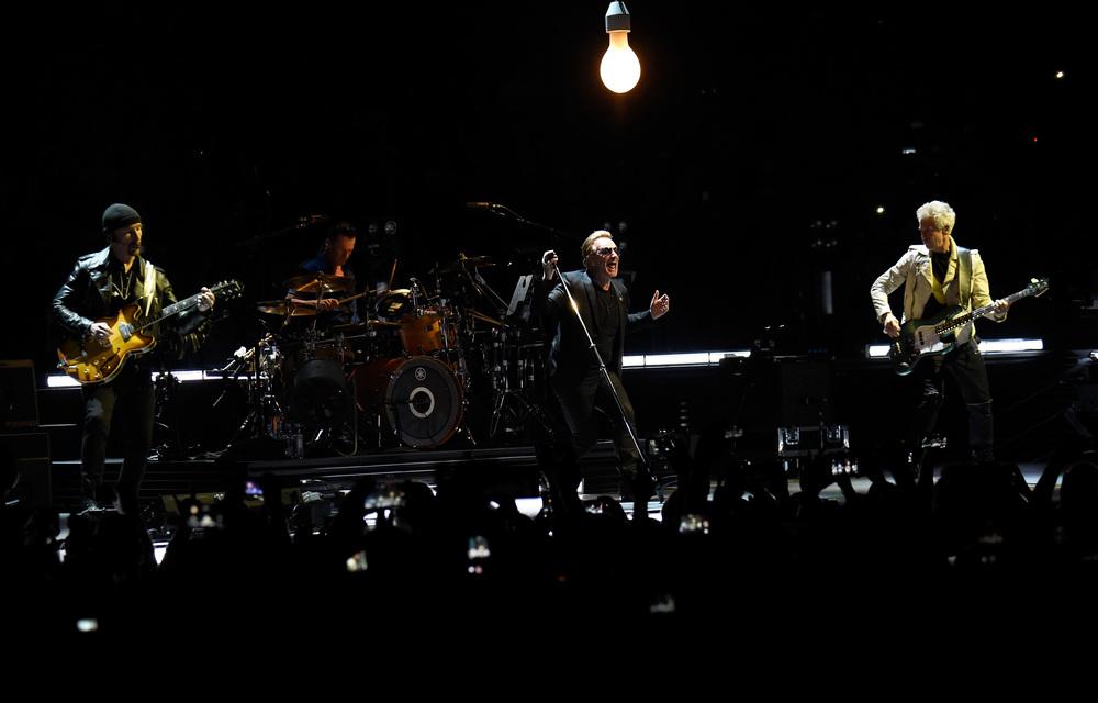 Kevin Mazur / U2 / U2TOURFANS 2015