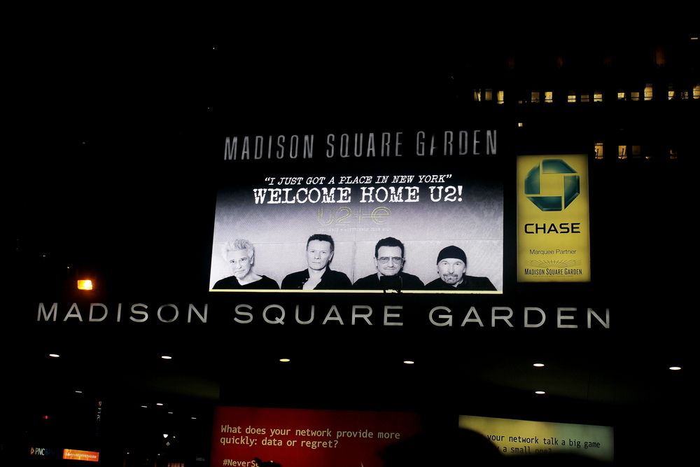 u2 closes out madison square garden with bruce springsteen u2tourfans - U2 At Madison Square Garden