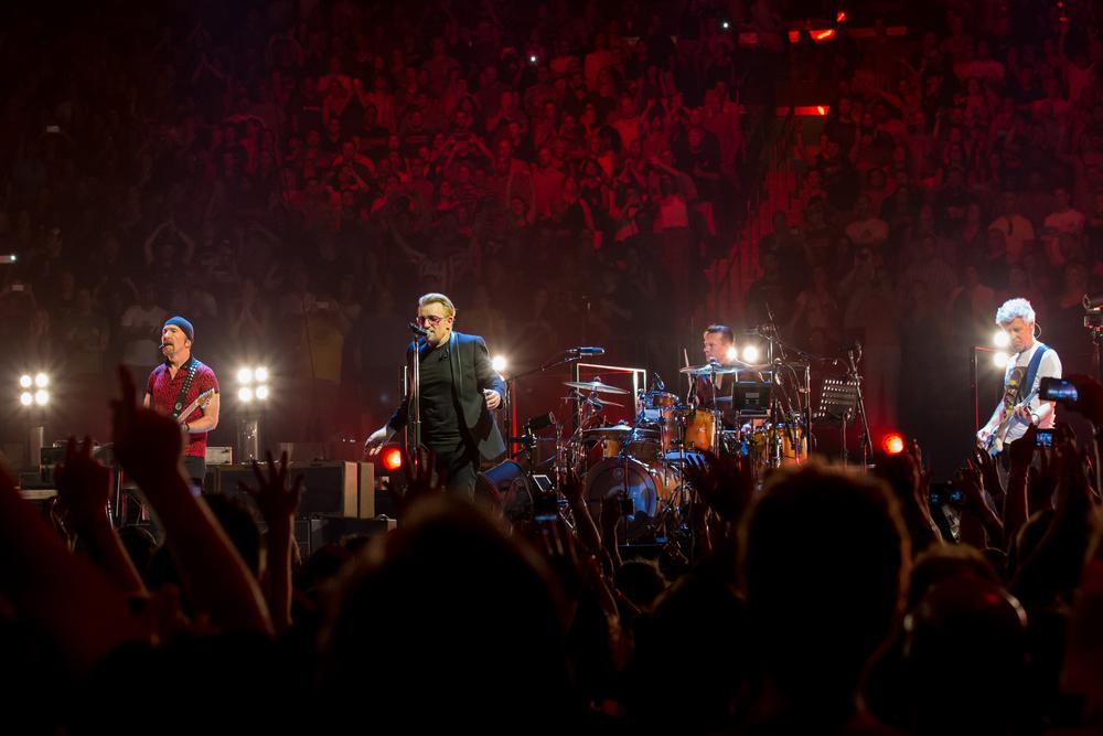 U2 / U2TOURFANS / Mark Peterson @2016