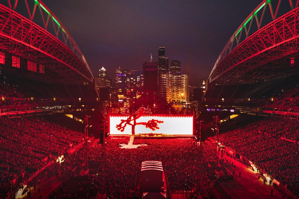 CenturyLink Field, Seattle Photo credit: Kevin Mazur