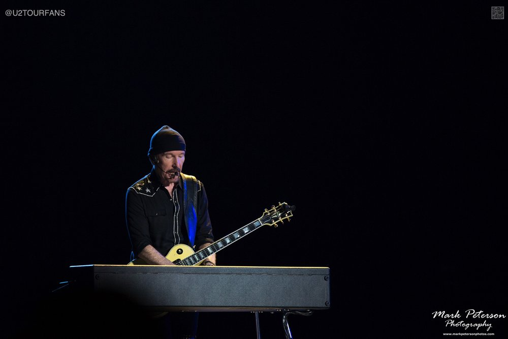 The Edge / Mark Peterson / U2TOURFANS